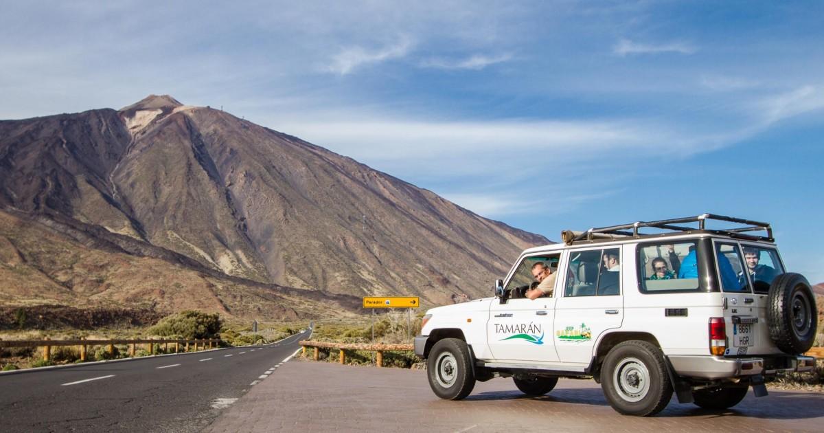 Vanuit Playa de las Américas: dagsafari met Jeep Teide - Masca, Spanje |  GetYourGuide