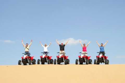Hurghada: 3-Hour Desert Safari Quad Bike and Camel Ride