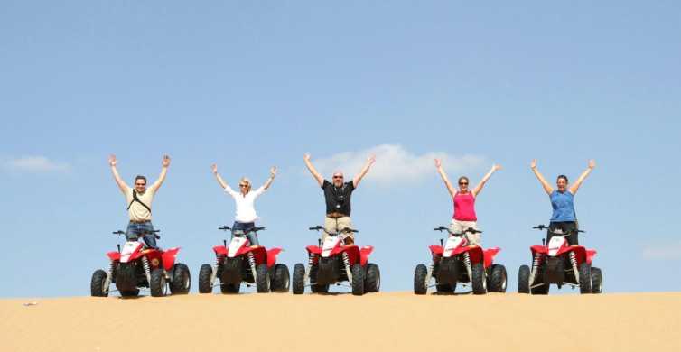 Hurghada: woestijnsafari van 3 uur met quad en kamelenrit