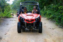 Playa del Carmen: Passeio de Buggy e Mergulho em Cenote