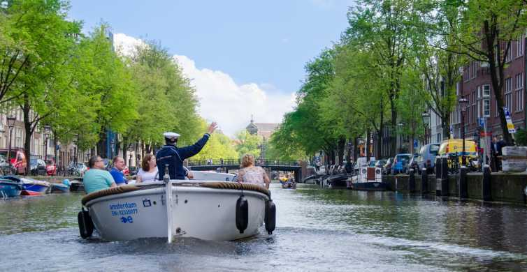 Amsterdam 75-Minute Open Boat Canal Cruise