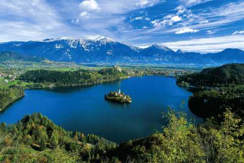 From Ljubljana: Lake Bled and Lake Bohinj trip