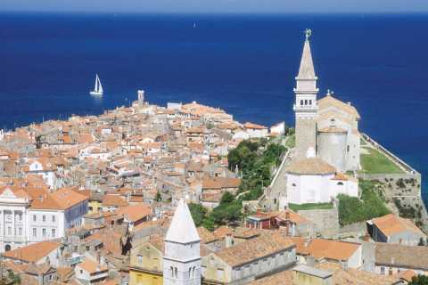 From Ljubljana: Lipica and the Coastal City of Piran