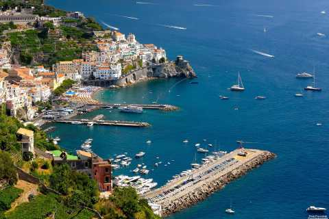 From Sorrento: Full-Day Amalfi & Pompeii Small Group Tour