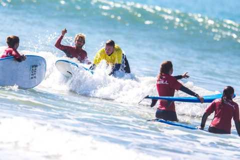 Cadix: aventure de vélo et de surf de 4 heures