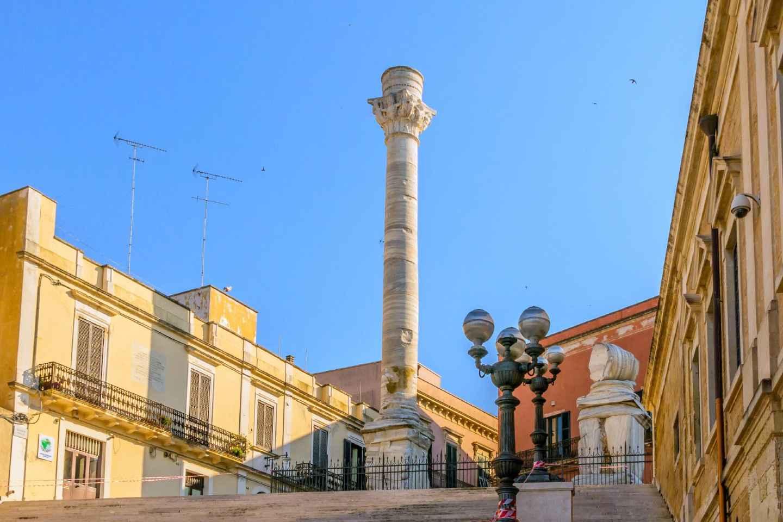 Brindisi: Führung am Römischen Hafen