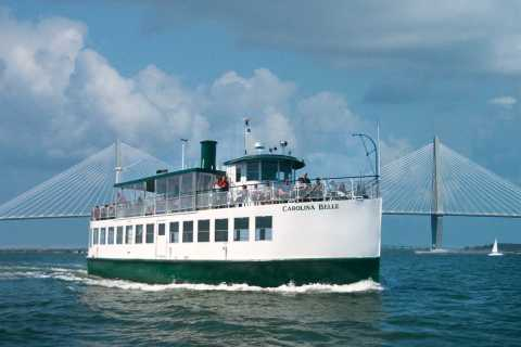Charleston: Daytime or Sunset Historic Harbor Cruise