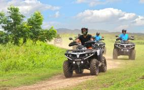 From San Juan: 2-Hour ATV Adventure at Campo Rico Ranch