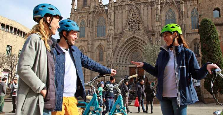 Barcelona Main Sights 2.5-Hour Tour by E-Bike