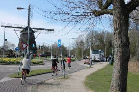 Amsterdam: balade à vélo, moulins à vent, fromage et sabots