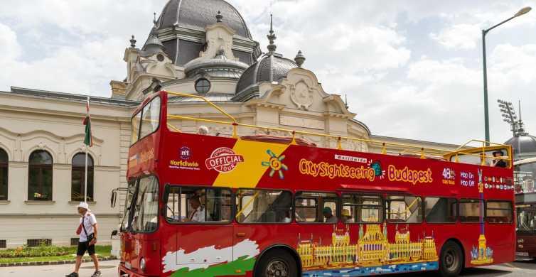 Budapest: billet de bus à arrêts multiples