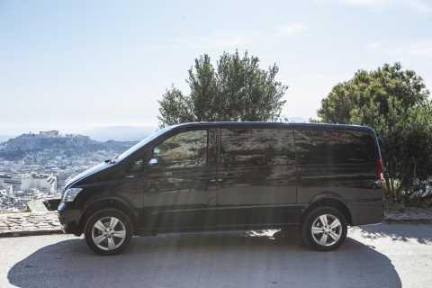 Transfer de minivan entre o aeroporto de Atenas e o porto de Pireu