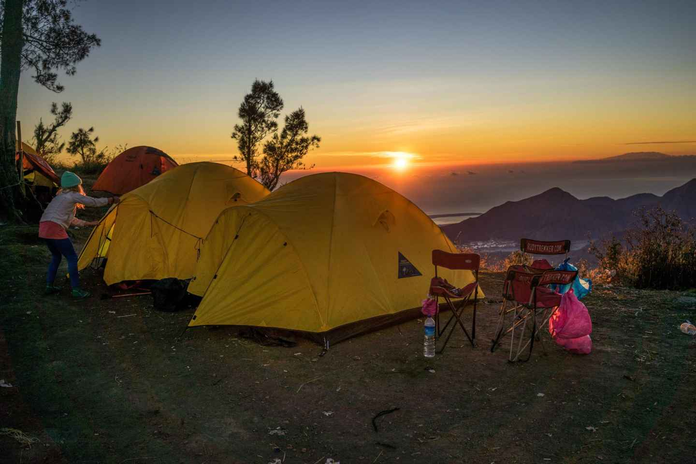 Bali: 2 Tage Camping Gunung Batur zu Sonnenauf- & -untergang