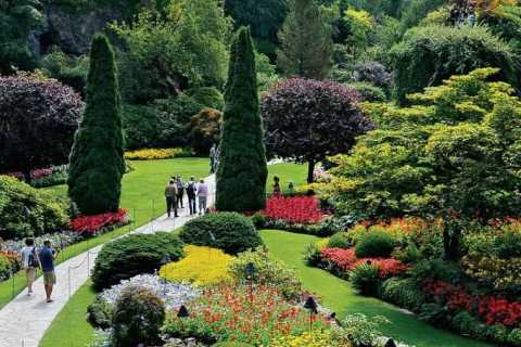 The Butchart Gardens to Vancouver Adventure Crossing