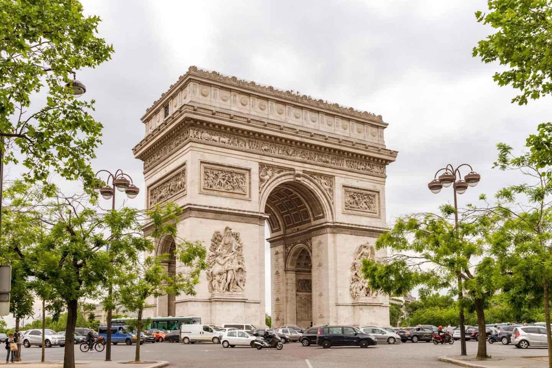 Arc de Triomphe: Aussichtsplattform - Ticket ohne Anstehen