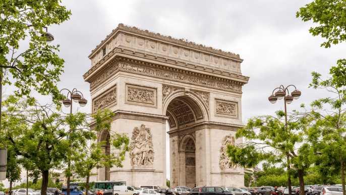 París: sin colas a la azotea del Arco de Triunfo