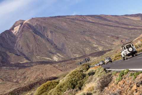 Ab Playa de las América: Halbtägige Jeep-Safari