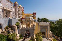 Lisboa: Excursão de 1 Dia a Sinta com Palácio da Pena