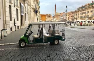Rom: Tour durch die Stadt per Golfcart
