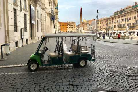 Imperial Rome Tour by Golf Cart