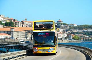 Porto: 2-Tages-Ticket für den Hop-On/Hop-Off-Bus