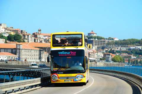 Porto: 2-Day Hop-On Hop-Off Bus Ticket