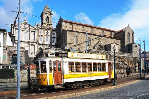Porto: Bilhete de Ônibus Turístico, Bonde e Funicular