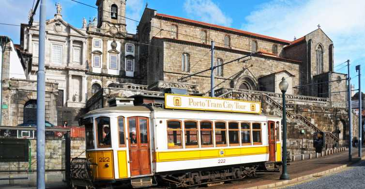 Porto: Hop-On Hop-Off Bus, Tram & Funicular Ticket