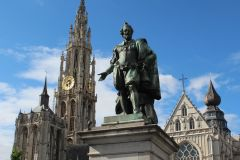 Antuérpia: excursão a pé particular com um morador