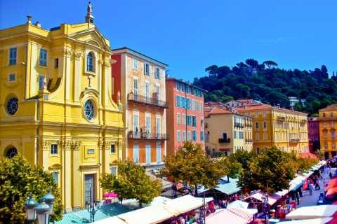 Niza y colina del castillo: tour histórico a pie con guía