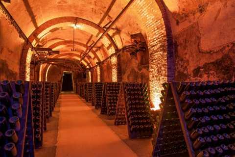 Reims: caves à champagne et maison G.H. Mumm
