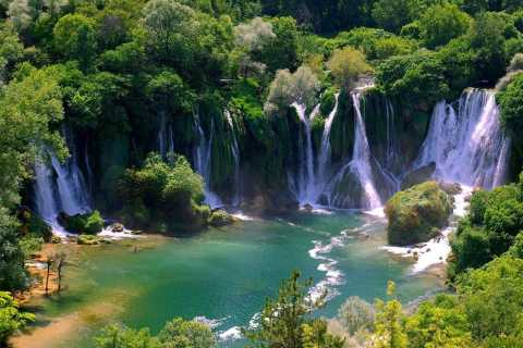 Mostar & Kravica Waterfall: Small Group Tour from Dubrovnik