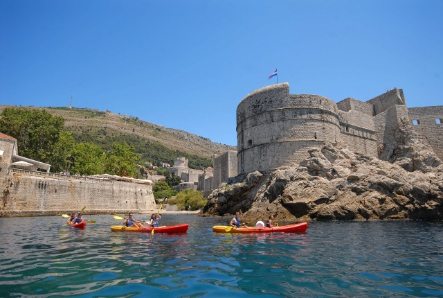 Dubrovnik: 3 uur durende zeekajaktocht met snack