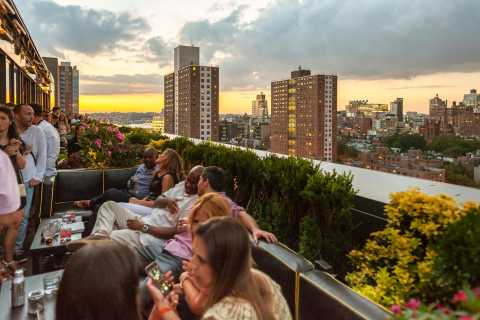 Tour por los bares en los tejados de Nueva York