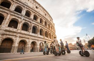 Rom: Segway-Tour vom Kolosseum zum Trevibrunnen