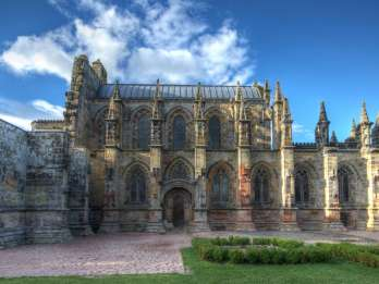 Rosslyn-Kapelle, Scottish Borders und Glenkinchie Distillery