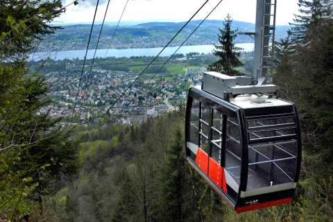 Zürich: 4-Hour City Tour by Ferry, Cable Car and Coach