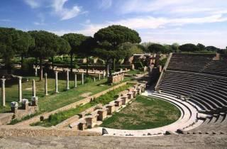 Ab Rom: Halbtagestour nach Ostia Antica