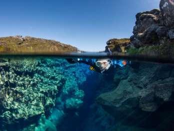 Island: Golden Circle & Schnorcheln in der Silfra-Spalte