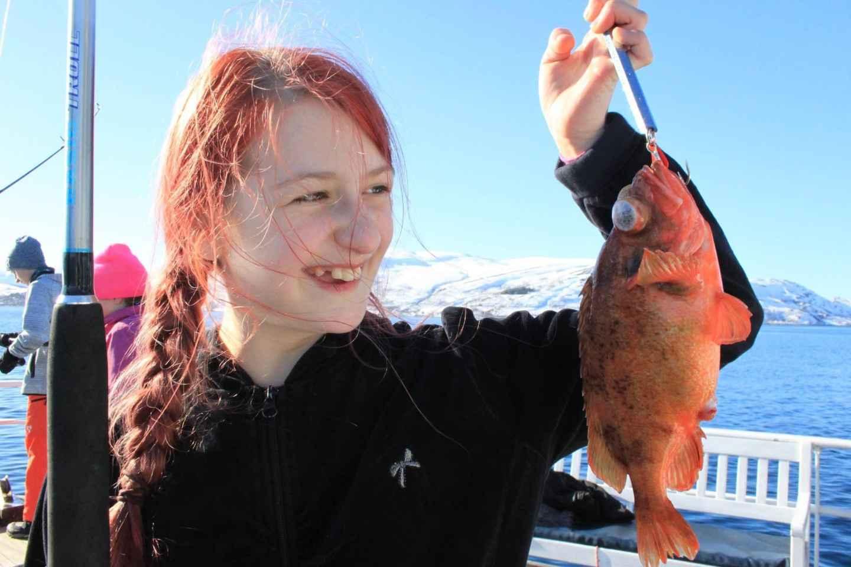 Ab Tromsø: 3-stündiger Angelausflug im Polarmeer