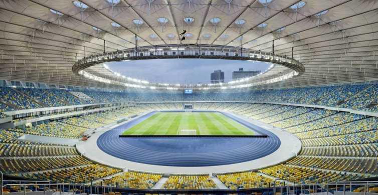 NSC Olimpiyskiy Stadium Guided Tour