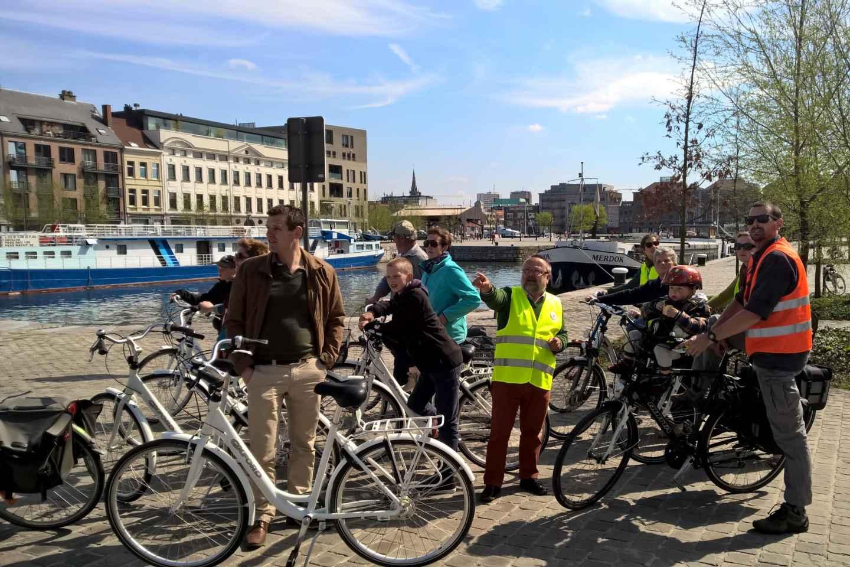 Antwerpen Highlights: Fahrradtour