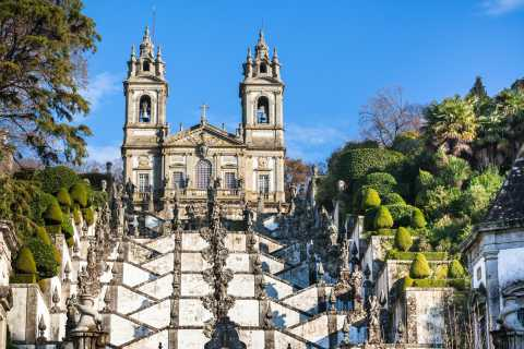 Braga: Full-Day Hop-On Hop-Off Bus Tour