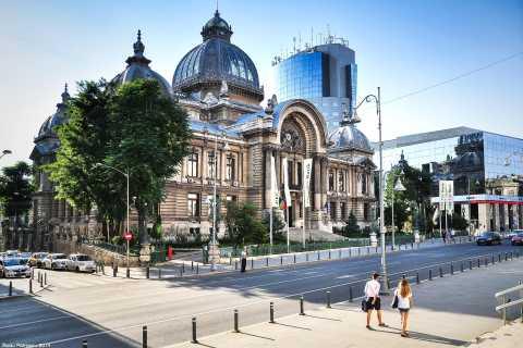 Bucarest: tour en bicicleta por la ciudad de 2 horas