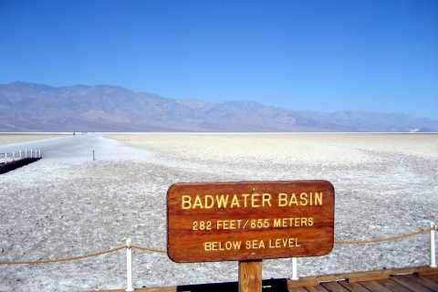From Las Vegas: Death Valley Tour in German