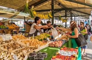 Venedig: Mittagstour, Essen und Wein am Rialto-Markt
