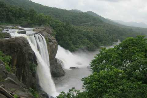 Athirappilly Waterfall Excursion with Lunch from Cochin
