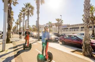 Barcelona: Große 2-stündige Segway-Tour