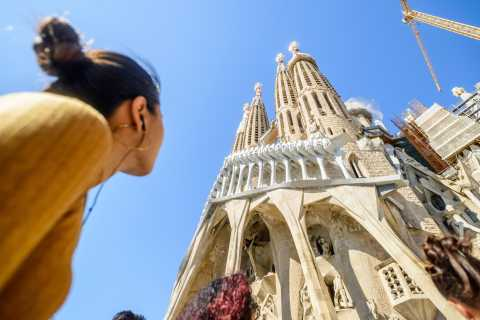 Fast-Track Guided Tour: Sagrada Familia and Park Güell