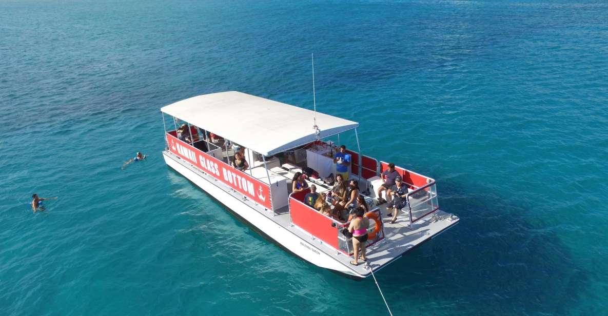 Oahu: Popołudniowe zwiedzanie łodzi ze szklanym dnem w Waikiki
